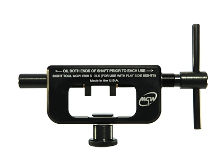 Maryland Gun Works Rear Sight Tool Glock for Straight Sided Sights