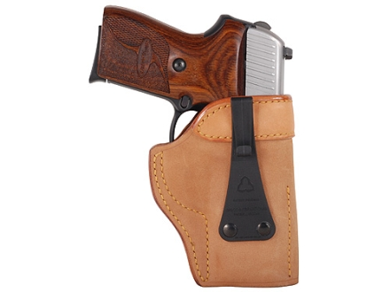 "Galco Ultra Deep Cover Inside the Waistband Holster Right Hand S&W J-Frame, Charter Arms Undercover 2"", Taurus 85, 85CH Leather Tan"