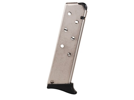 ProMag Magazine with Base Pad Bersa 383A, Series 95, Thunder 380, Firestorm 380 ACP 7-Round Steel Nickel Plated