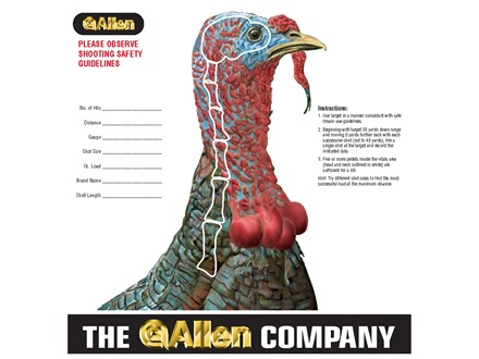 Allen Turkey Hunter Shogun Target Package of 12
