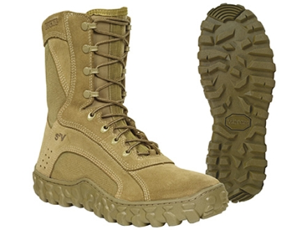 """Rocky S2V 8"""" Flash and Water-Resistant Uninsulated Boots Cordura Nylon"""