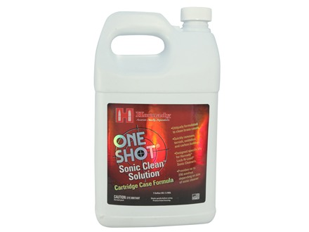 Hornady One Shot Sonic Cleaner Ultrasonic Case Cleaning Solution 1 Gallon Liquid