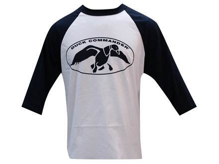 Duck Commander Men's 3/4 Sleeve Logo T-Shirt