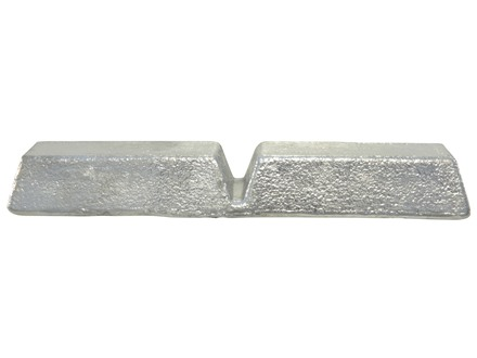 Certified 16 to 1 Bullet Casting Alloy Ingot (16 Parts Lead to 1 Part Tin) Approximately 6 lb Average Weight