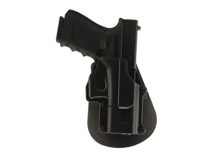 Fobus Roto Paddle Holster Right Hand Glock 17, 19, 22, 23, 31, 32, 34, 35 Polymer Black