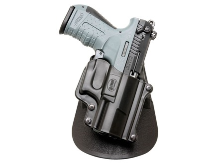 Fobus Paddle Holster Right Hand Walther P22 Polymer Black