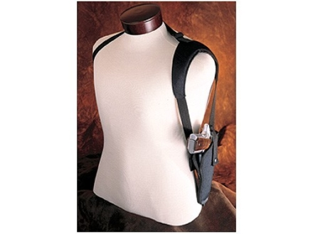 Hunter 1280-2 Ruffstuff Single Shoulder Harness Right Hand Converts Ruffstuff Belt Holster to Shoulder Carry Nylon Black