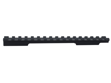 EGW 1-Piece Picatinny-Style 20 MOA Elevated Base Savage 10 Through 16 Round Rear, Axis Short Action Matte