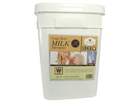 Wise Food Stocking Up Powdered Whey Milk 120 Serving Bucket