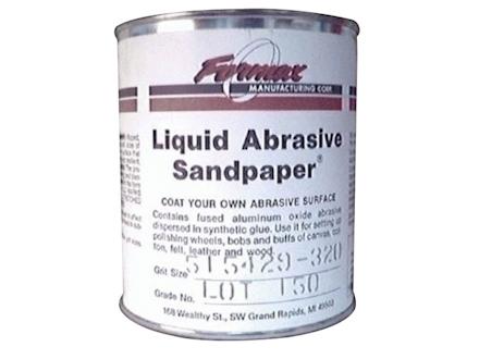 Formax Liquid Abrasive Sandpaper 320 Grit 1 Quart