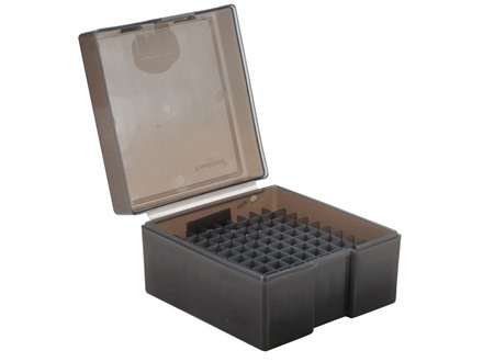 Frankford Arsenal Flip-Top Ammo Box #1005 17 Remington, 204 Ruger, 223 Remington 100-Round Plastic Smoke Box of 10