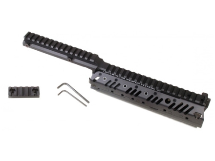 Vltor CASV-SX Step Level Free Float Modular Rail Handguard AR-15 Mid Length Aluminum Black