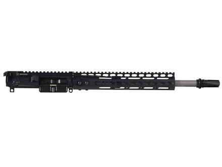 "Noveske AR-15 Pistol N4 Lo-Pro A3 Flat-Top Upper Assembly 300 AAC Blackout 1 in 7"" Twist 14.5"" Barrel Stainless Steel with NSR-11 Free Float Handguard, AAC Blackout Flash Hider"