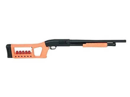 Choate Mark 6 Pistol Grip Buttstock with Integral Shotshell Ammunition Carrier and Forend Remington 870 Synthetic Orange