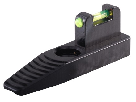 "Tactical Solutions Front Sight Ruger Mark II, Mark III, 22/45 .445"" Height Aluminum Fiber Optic Green"