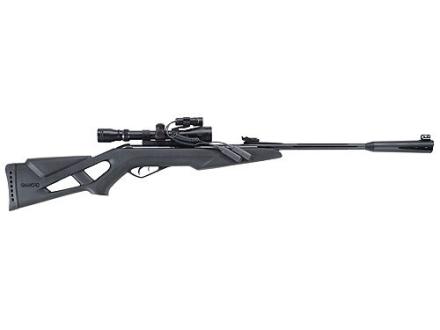Gamo Whisper VH Air Rifle 177 Caliber Black Synthetic Stock Blue Barrel with Gamo Airgun Scope 3-9 x 40mm Matte