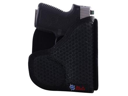 DeSantis Super Fly Pocket Holster Ambidextrous Kahr K9, P9, MK9, CM9, PM9, Kel-Tec PF9, Ruger LC9 Nylon Black