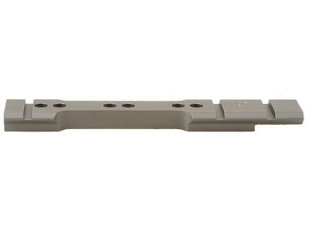 Stratton Custom TC Accessories Weaver-Style Steel 6-Hole Scope Base Thompson Center Encore Silver Matte
