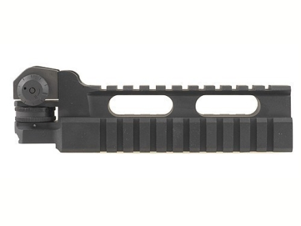 DPMS Detachable High Triple Rail with Rear Sight Assembly AR-15 Aluminum Matte