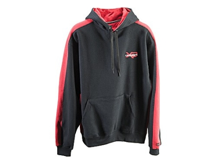 "Springfield Armory XD Hooded Sweatshirt Cotton Black and Red Small (36"")"