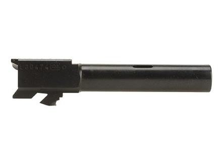 "Glock Barrel Glock 19C 9mm Luger 1 in 9.84"" Twist 4.02"" Carbon Steel Matte with Compensator"