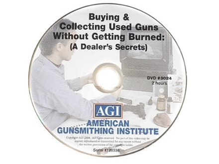 "American Gunsmithing Institute (AGI) Video ""Buying and Collecting Used Guns"" DVD"