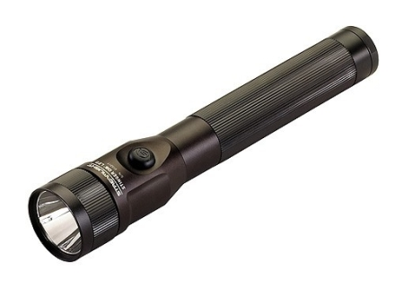 Streamlight Stinger DS LED Flashlight White LED with AC and DC Chargers Aluminum Matte