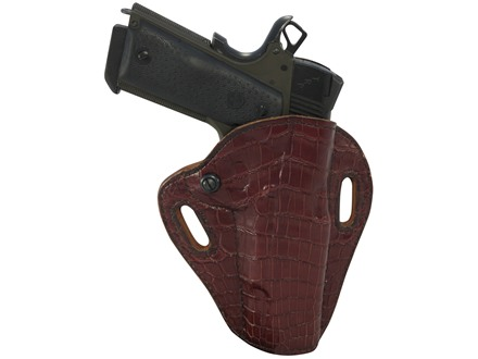 El Paso Saddlery Exotic Crosshair Outside the Waistband Holster Right Hand 1911 Government Crocodile