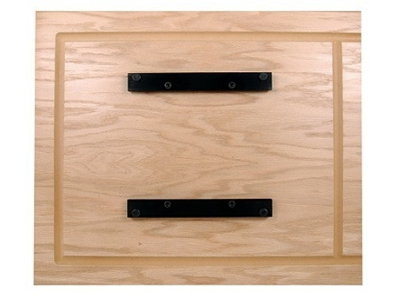 """Precision Reloading Baseboard with Quick Change Mounting Brackets for MEC Shotshell Presses 7"""" Base Oak"""