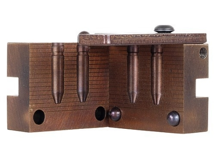 Saeco 2-Cavity Bullet Mold #071 284 Caliber, 7mm (285 Diameter) 160 Grain Truncated Cone Gas Check