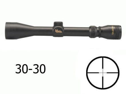 Tasco Golden Antler Rifle Scope 3-9x 40mm 30-30 Reticle Matte