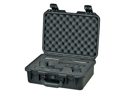 "Pelican Storm 2200 Pistol Case with Pre-Scored Foam Insert 15"" x 10-1/2"" x 6"" Polymer Black"
