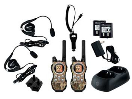 Motorola Talkabout MR356R Two-Way Radio Realtree AP Camo Pack of 2