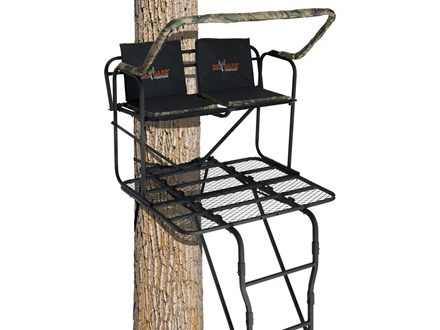 Big Game The Partner Pro Double Ladder Treestand Steel Black