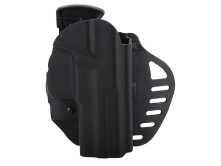 Hogue PowerSpeed Concealed Carry Holster Outside the Waistband (OWB) Right Hand Sig Sauer P228, P229  Polymer Black