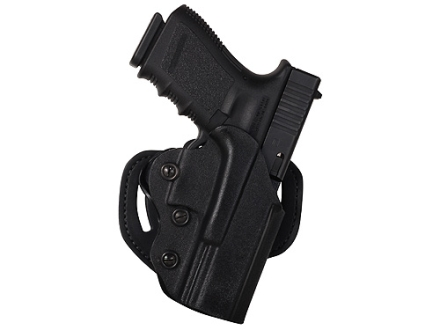 DeSantis Facilitator Belt Holster Right Hand Smith & Wesson M&P Compact 9, 40 Kydex Black