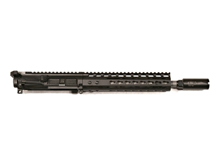 "Noveske AR-15 Pistol Light Shorty Lo-Pro A3 Flat-Top Upper Assembly 5.56x45mm NATO 1 in 7"" Twist 10.5"" Barrel Chrome Lined CM Matte with NSR-9 Free Float Handguard, KX3 Flash Hider"