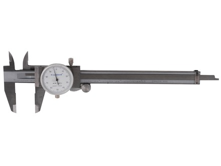 "Frankford Arsenal Dial Caliper 6"" Stainless Steel"