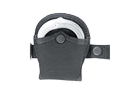 Uncle Mike's Open Handcuff Case for Pro-Pak Vertical and Horizontal Shoulder Holster Nylon Black