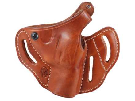 "El Paso Saddlery Dual Duty 3 Slot Outside the Waistband Holster Right Hand Smith & Wesson J-Frame 2"" Leather Russet Brown"