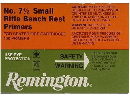 Remington Small Rifle Bench Rest Primers #7-1/2