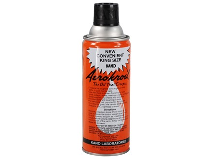 Kano Aerokroil Penetrating Oil and Bore Cleaning Solvent 13 oz Aerosol