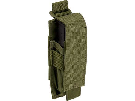 5.11 Single Pistol Magazine Pouch Nylon Tactical Olive Drab