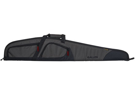 "Allen Trappers Peak Shotgun Case 52"" Nylon Gray and Black"