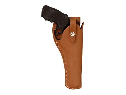 "Hunter 2200 SureFit Holster Medium and Large Frame Double-Action Revolver 5"" to 6"" Barrel Leather Tan"