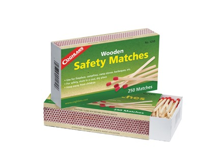 Coghlans Wooden Safety Matches Pack of 250
