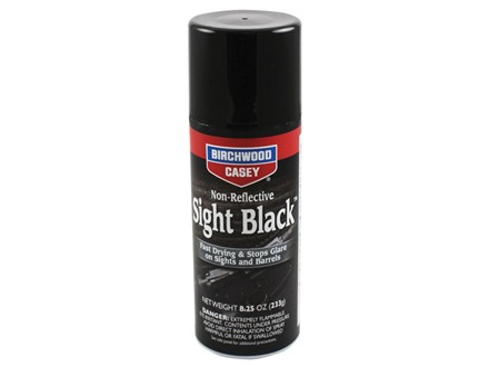 Birchwood Casey Sight Black Gun Finish 8.25 oz Aerosol Matte Black