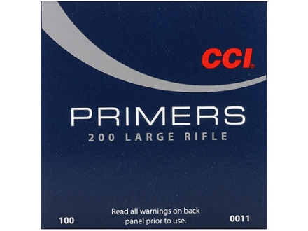 CCI Large Rifle Primers #200