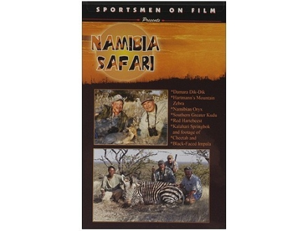 "Sportsmen on Film Video ""Namibia Safari"" DVD"