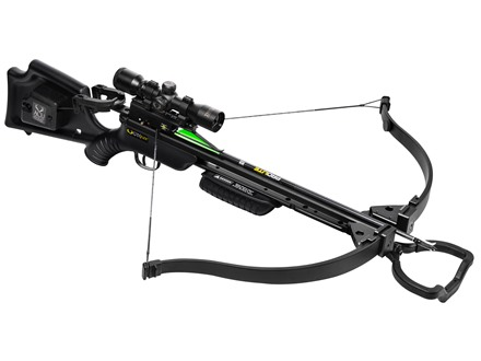 TenPoint GT Flex Recurve Crossbow Package with 3Xl Multi-Line Scope and ACUdraw Black